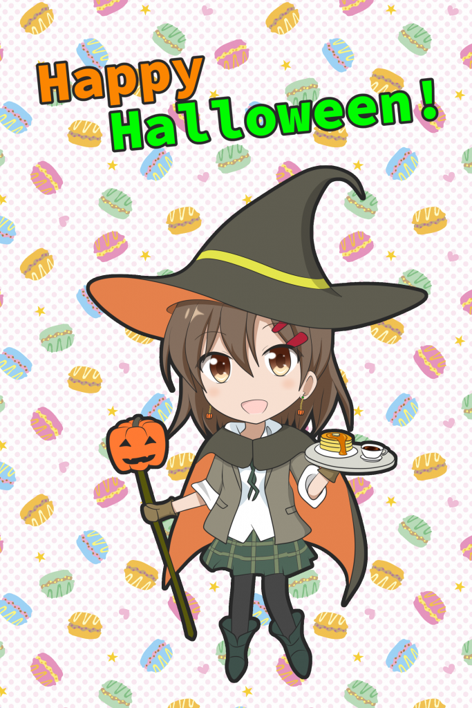 Pronama-chan-HalloweenCafe2